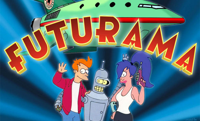 Futurama - Revived TV Series Netflix